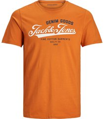 jack & jones t-shirt oranje plus size