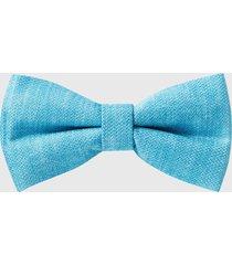 reiss boris - silk bow tie in blue, mens