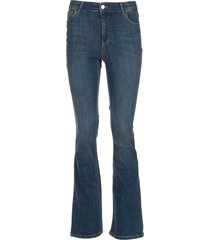 bootcut jeans mona  blauw
