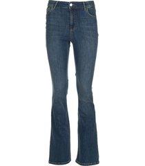 bootcut jeans mona  blauw