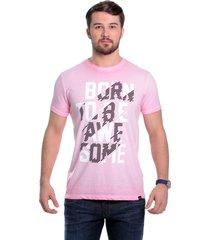 camiseta javali rosa born