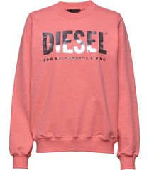 f-ang sweat-shirt sweat-shirt trui roze diesel women