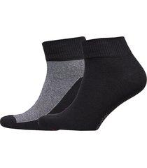 levis 168sf mid cut micro stripe 2p underwear socks regular socks svart levi´s