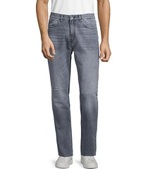 slim-fit tapered jeans