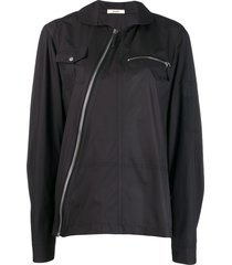 zilver recycled polyester sonic shirt - black