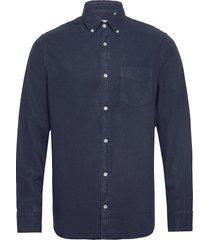 levon shirt 5029 overhemd casual blauw nn07