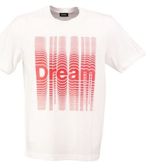 diesel stevig zacht wit t-shirt