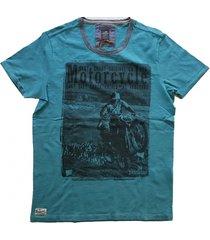 vanguard stevig shirt blauwgroen