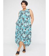 anywear floral falls midi dress (with pockets)