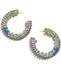 women's baublebar moonlight hoop earrings