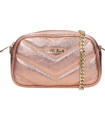 marc ellis bonnie clutch in copper leather