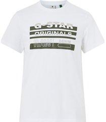 t-shirt originals stripe logo r t s/s