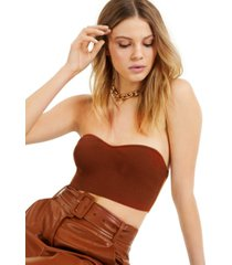 culpos x inc sweater-knit bustier, created for macy's