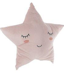 poduszka dziecięca dekoracyjna gwiazda różowa