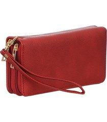 carteira fedra f5859 vermelho
