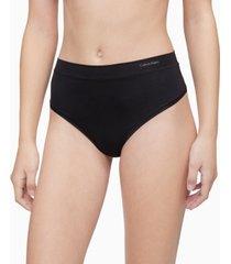 calvin klein women's ck one size high-waist thong