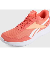 tenis running coral-rosa-blanco reebok energen lite