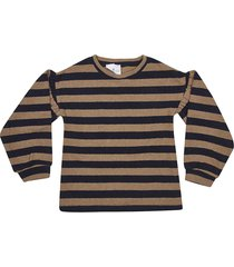 le petit coco striped pullover