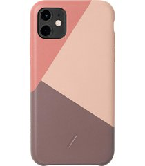 clic marquetry iphone 11 case - rose