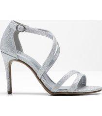 sandali con tacco (argento) - bpc selection