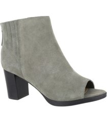 bella vita lex open toe booties women's shoes