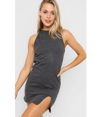 vestido gris agarrate catalina feme