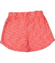 shorts kids menina tileesul coral