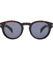 david beckham eyewear david beckham 48mm round sunglasses in dkhavana/gray pz at nordstrom