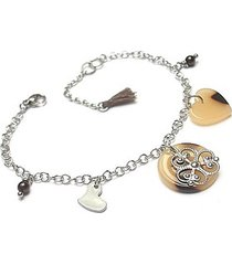 alloys collection animal heart-bransoletka