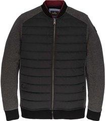 zip jacket track sweat antracite melee
