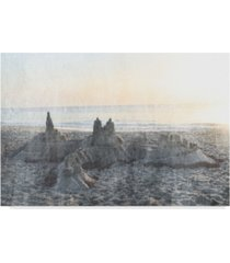 "sharon chandler sand castle ii canvas art - 15"" x 20"""