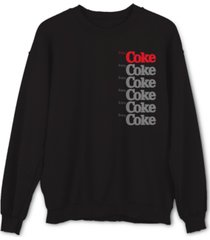 coke men's graphic sweatshirt