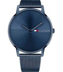 reloj azul tommy hilfiger 1781971 - superbrands