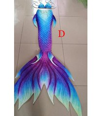purple fairy mermaid tail for swiming, silicone monofin swimmable mermaid tails