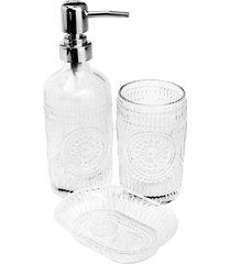 conjunto de 3 peças de vidro para banheiro armênia