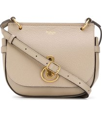 mulberry small amberley satchel - grey