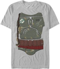 star wars men's classic boba fett bounty hunter costume short sleeve t-shirt