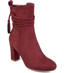 journee collection women's zuri bootie women's shoes