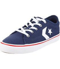 zapatilla azul  converse  star replay ox