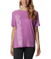 columbia plus size graphic-print t-shirt