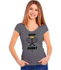 camiseta queen of the court