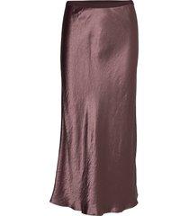 alessio knälång kjol röd max mara leisure