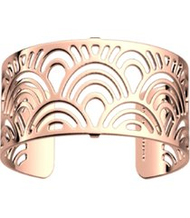 les georgettes by altesse loop openwork adjustable cuff poisson bracelet, 25mm, 1in
