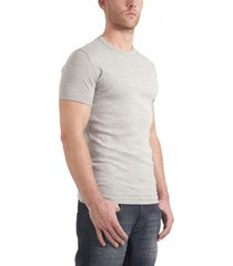 garage basic t-shirt round neck light grey semi bodyfit ( art 0301)