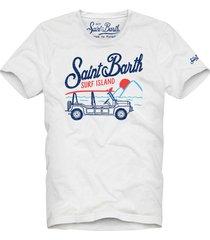 barth surfer print man t-shirt