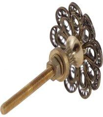 puxador- pashmina- puxador porta metal- dourado - dourado - dafiti