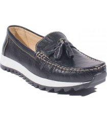 zapato casual para mujer  san polos 4133 negro