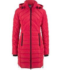 giacca lunga trapuntata (rosso) - bpc bonprix collection