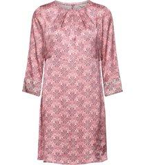 harper dress kort klänning rosa odd molly