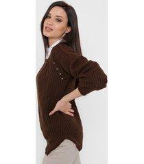 sweater chocolate romano giulia